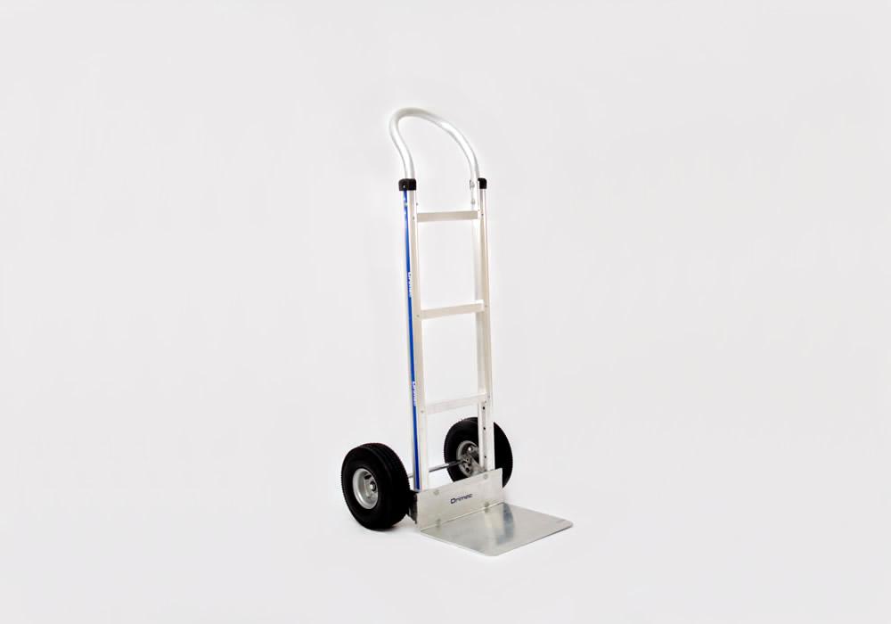 Carrinho de carga 2 rodas em alumínio 111-H-1010 (roda never flat)