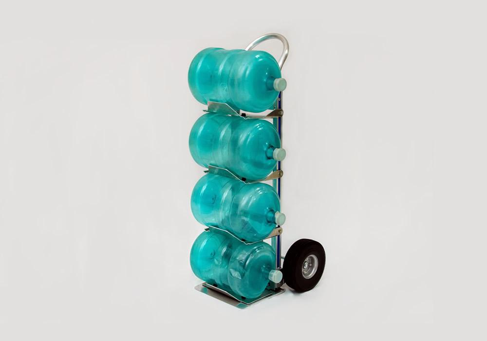 Carrinho para galão de água em alumínio 111-H-1040-BW4