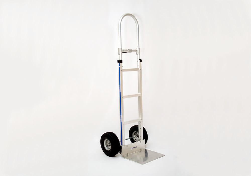 Carrinho de carga 2 rodas em alumínio 113(60)-H-1040