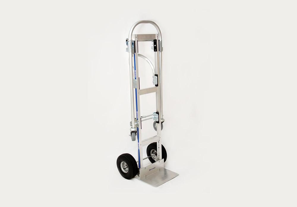 Carrinho de carga 2×1 Senior em alumínio