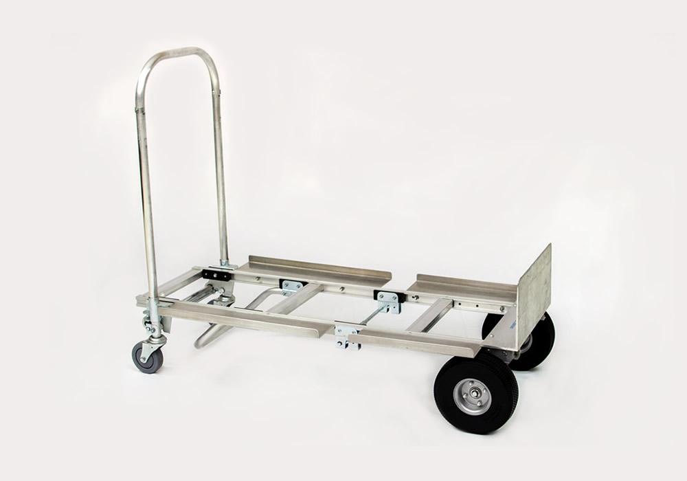 Carrinho de carga 2×1 Senior em alumínio 400 (Armazém)