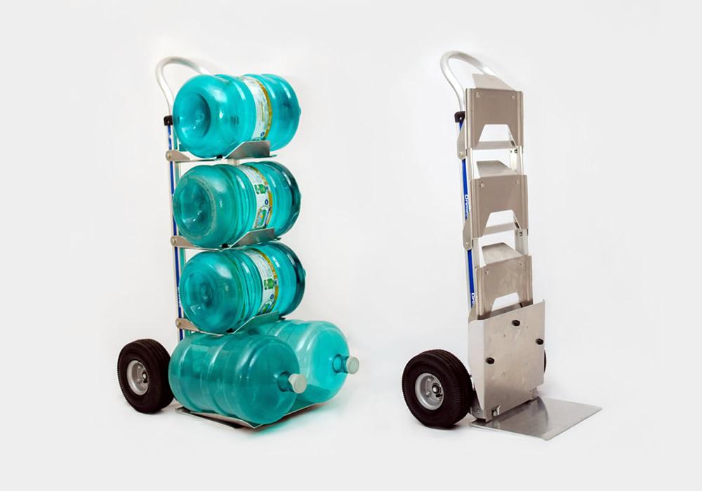 Carrinho para galão de água em alumínio 111-H-1040-BW5