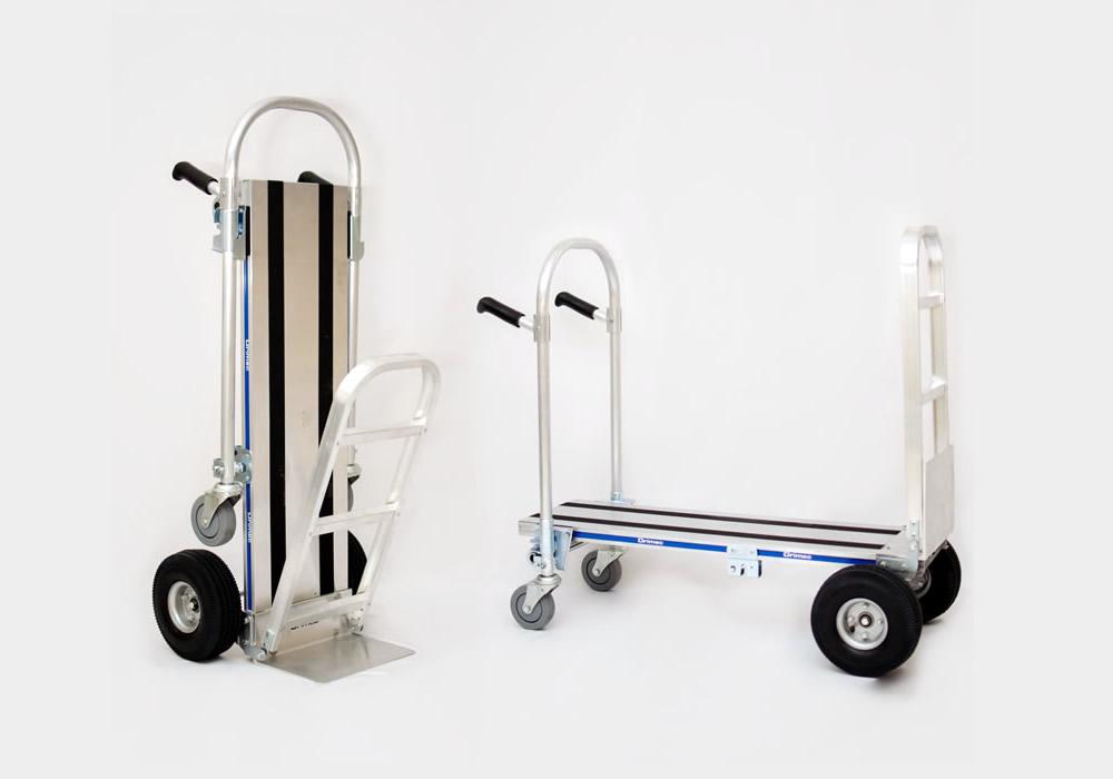 Carrinho de carga 2×1 Junior em alumínio com extensor F3