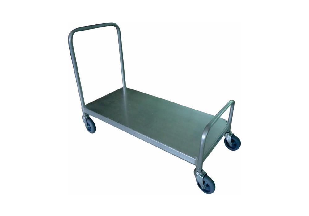 Carrinho de carga plataforma em alumínio