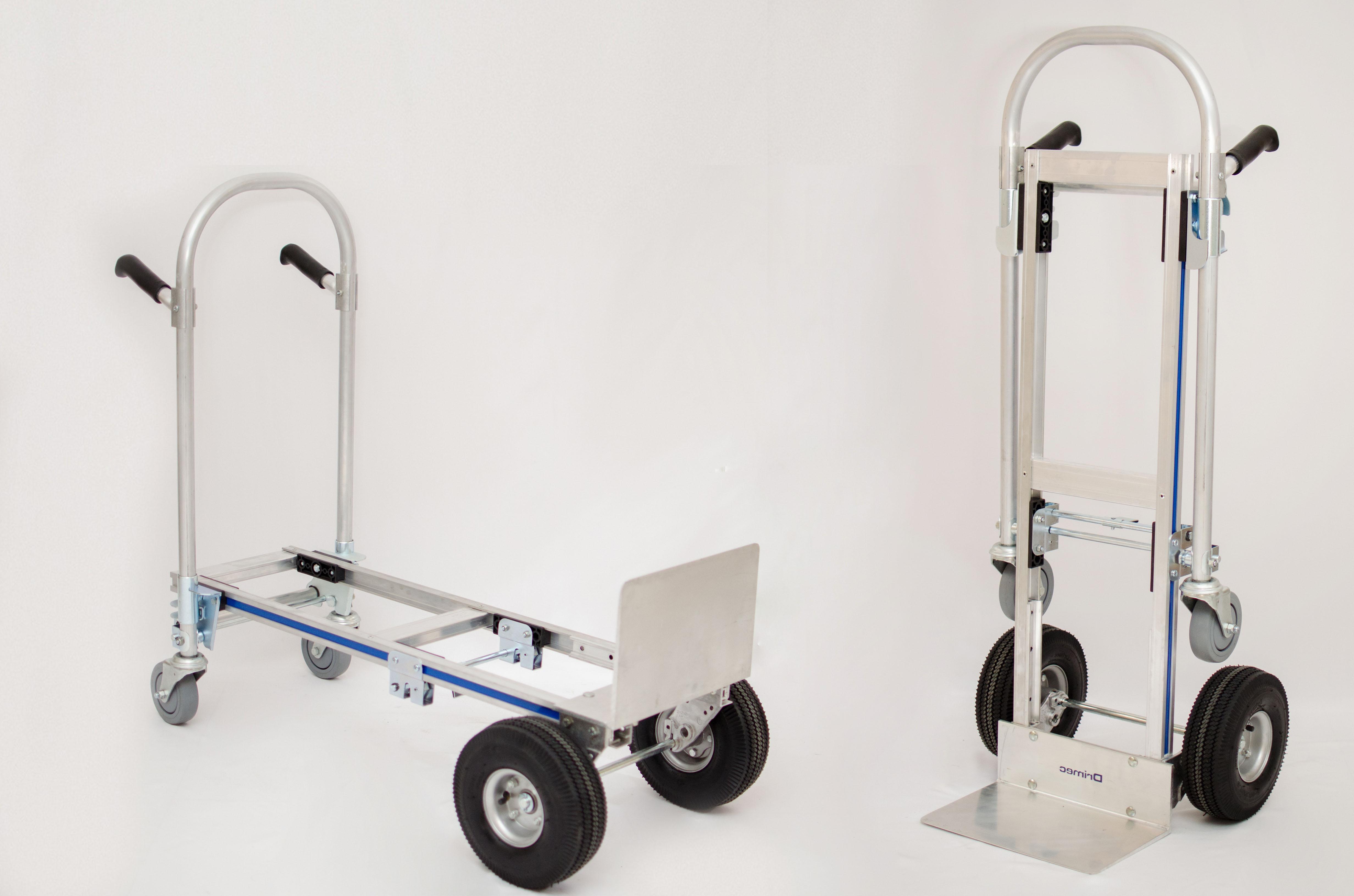 Carrinho de carga 2×1 Junior em alumínio
